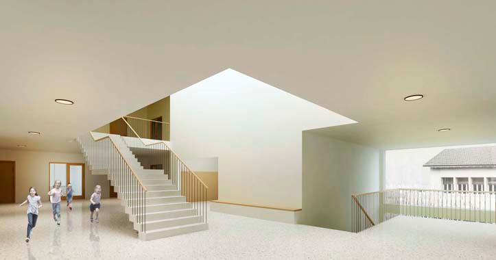 lutz buss architekten ag schulhaus arbon. Black Bedroom Furniture Sets. Home Design Ideas